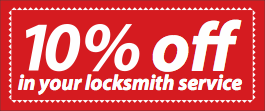 10% Off your Locksmith service