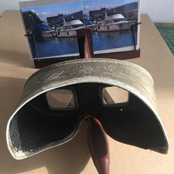 This week is all about 3D photography and stereoscopes