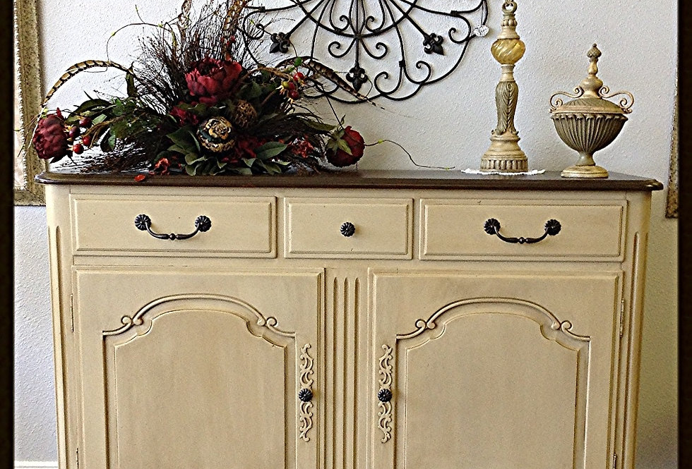 Ethan Allen French Country Sideboard