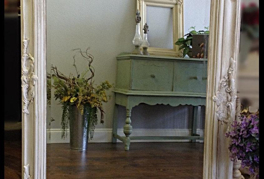 Ornate Beveled Mirror