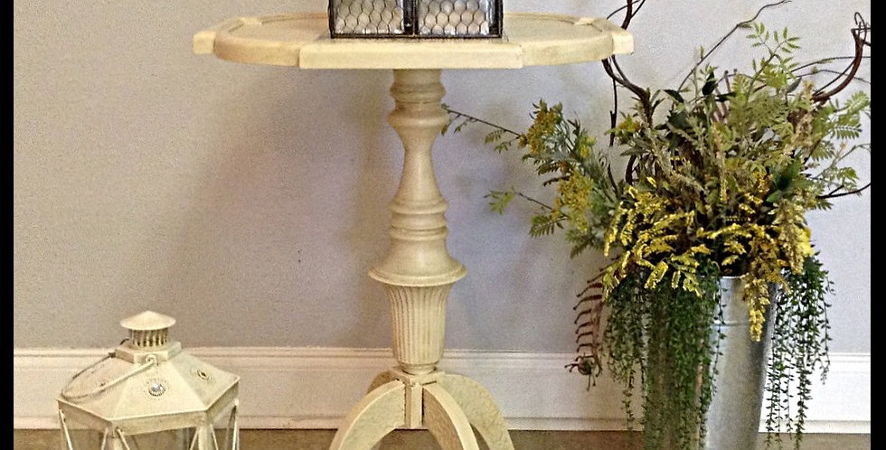 Vintage Metal Accent Table