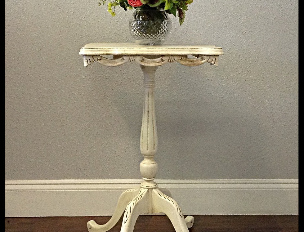 Antique French Accent Table