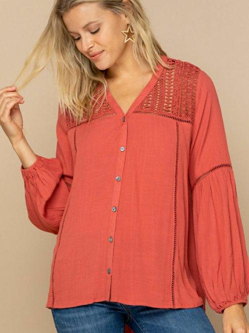 Color Me Terra Cotta Knit