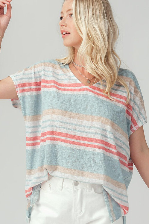 Sunset in the City Knit Top