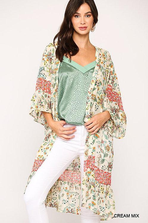 Splash of Summer Kimono