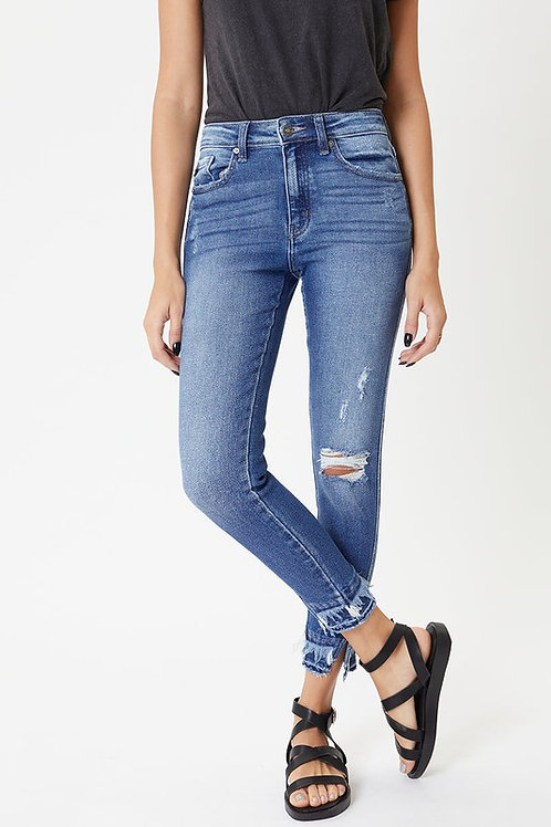 Twisted Sister Ankle Skinny Denim
