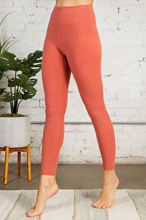 Active Leggings/Sunset Coral