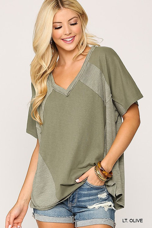 Earthy Sage Knit Top