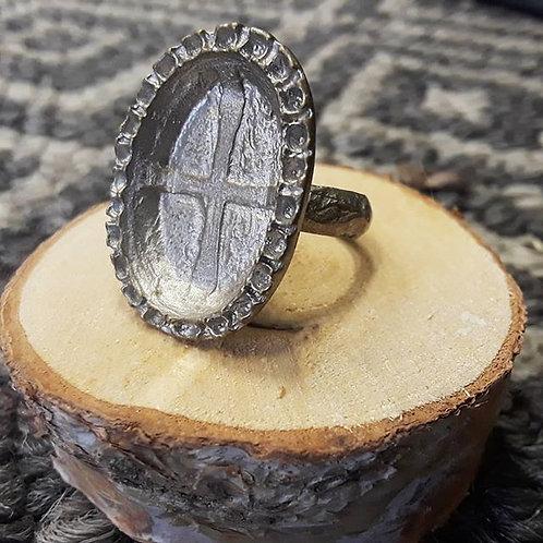 Vintage Cross Ring
