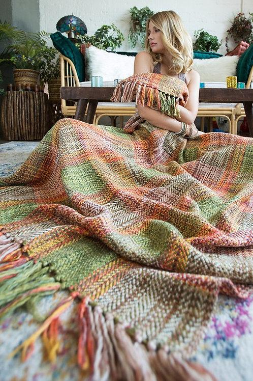 Apple Orchard & Woodstock Throw Blanket