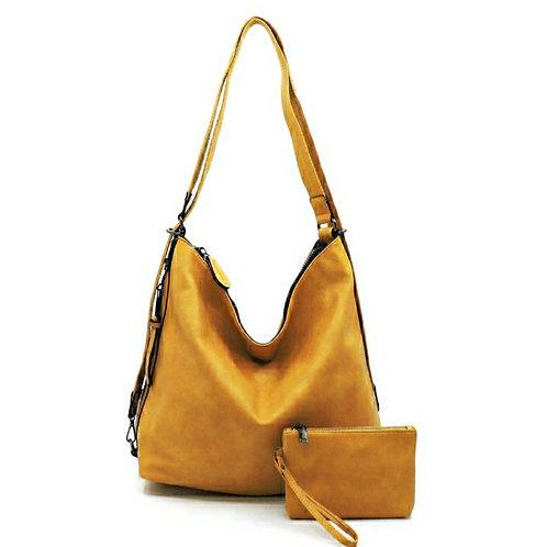 Sunflower 2-in-One Bag & Clutch