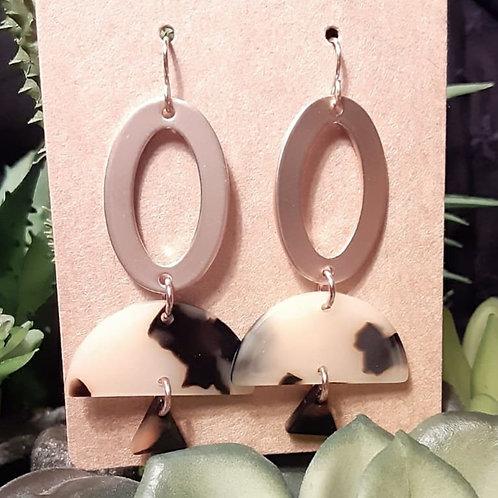 Rosie Gold Dangle Earrings