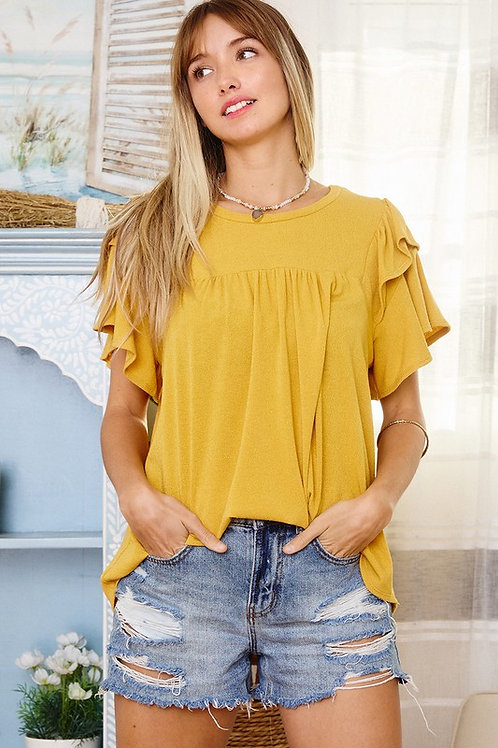 Pineapple Classy Knit Top