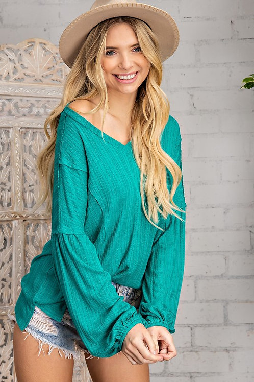 All About Jade Knit Top