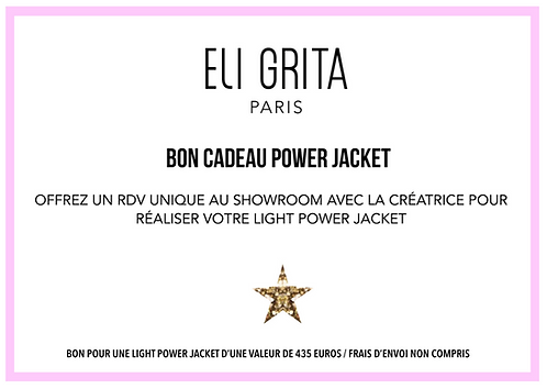 BON CADEAU POWER JACKET