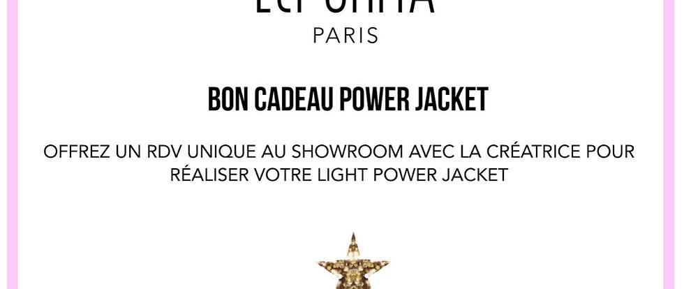 LIGHT POWER JACKET GIFT CARD