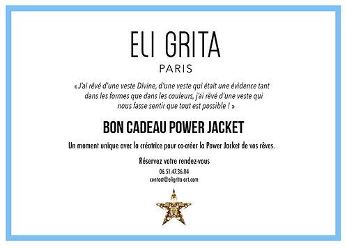 BON CADEAU WHITE POWER JACKET
