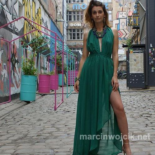 Sukienka OZZ II zielona