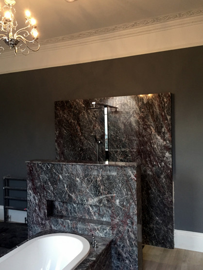Salome Marble Shower Wall & Bath Surround