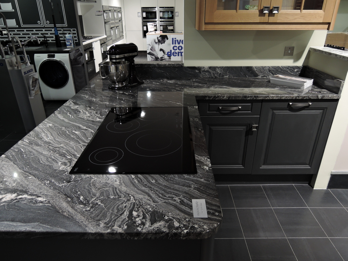 Silver Forest Granite Now On Display At Nailsea Electrical
