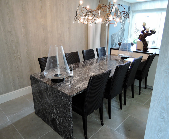 Silver Forest Table