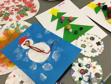 Christmas Crafts with Childminders
