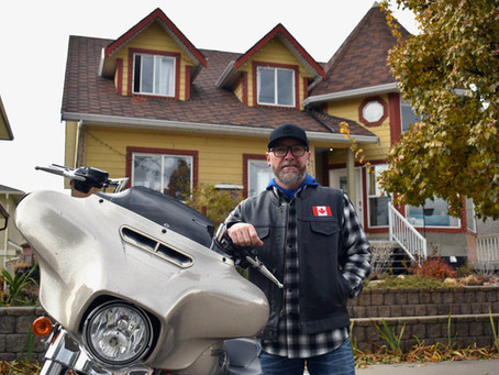 Penticton man looking for votes in Orange County Chopper contest wants to donate prize bike