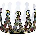 Scratch Crowns -  Jean-Michel Basquiat, American Graffiti Street Artist