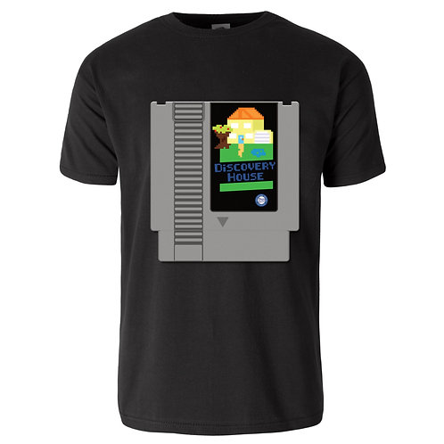 Discovery House NES Cartridge T-Shirt