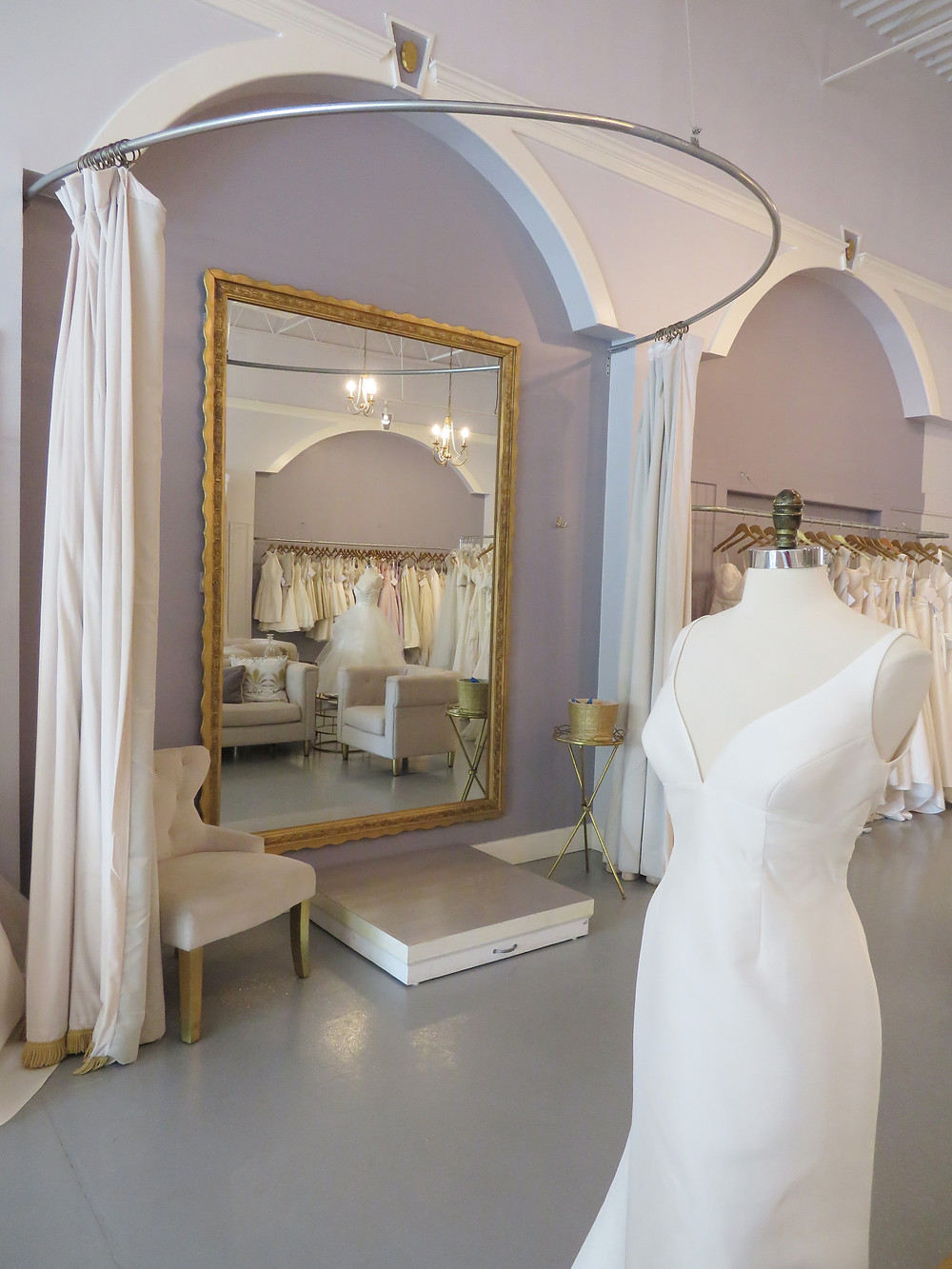 Southern Protocol Bridal Dressing Room