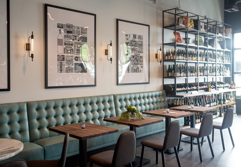 Graft Wine Bar - Onyx Design Collaborative