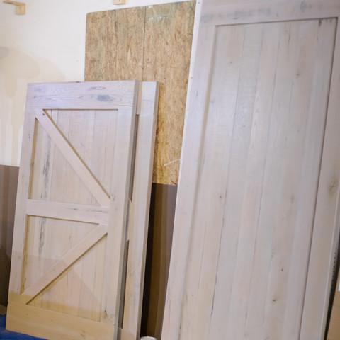 Salt Wood Co. barn doors