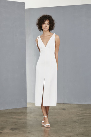 Amsale Little White Dress