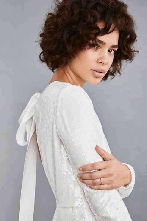 Amsale Little White Dress