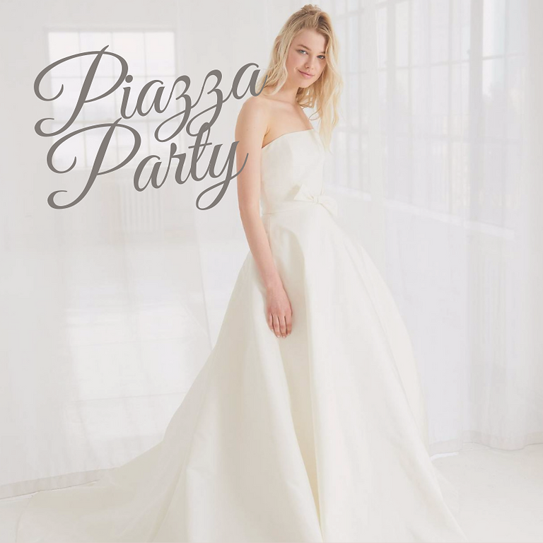 Debutante Gown Piazza Party