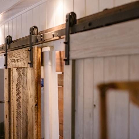 Salt Wood Co. barn door
