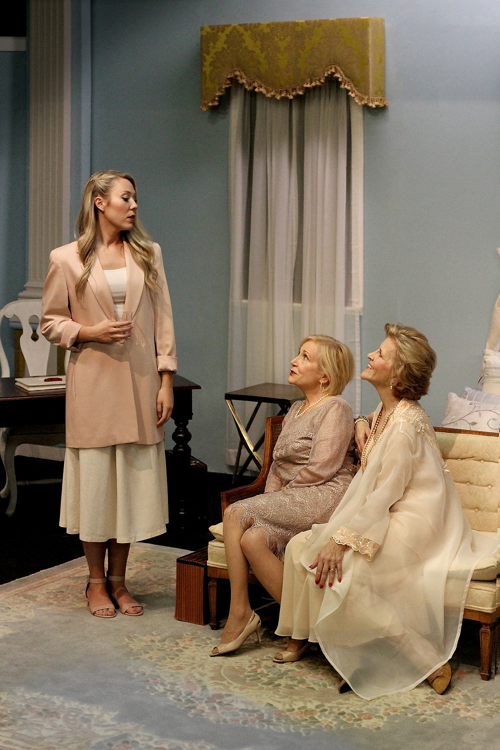 South of Broadway's Three Tall Women. Photo by Daniel Velasco.