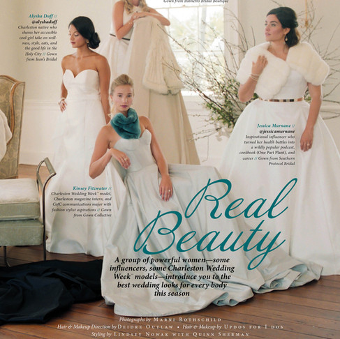 Southern Protocol Bridal Featured In Charleston Weddings Magazine