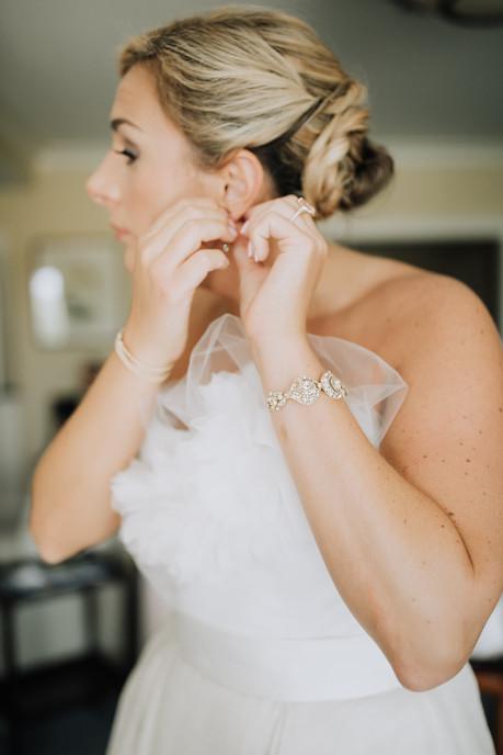 Real bride Sara in Haute Bride