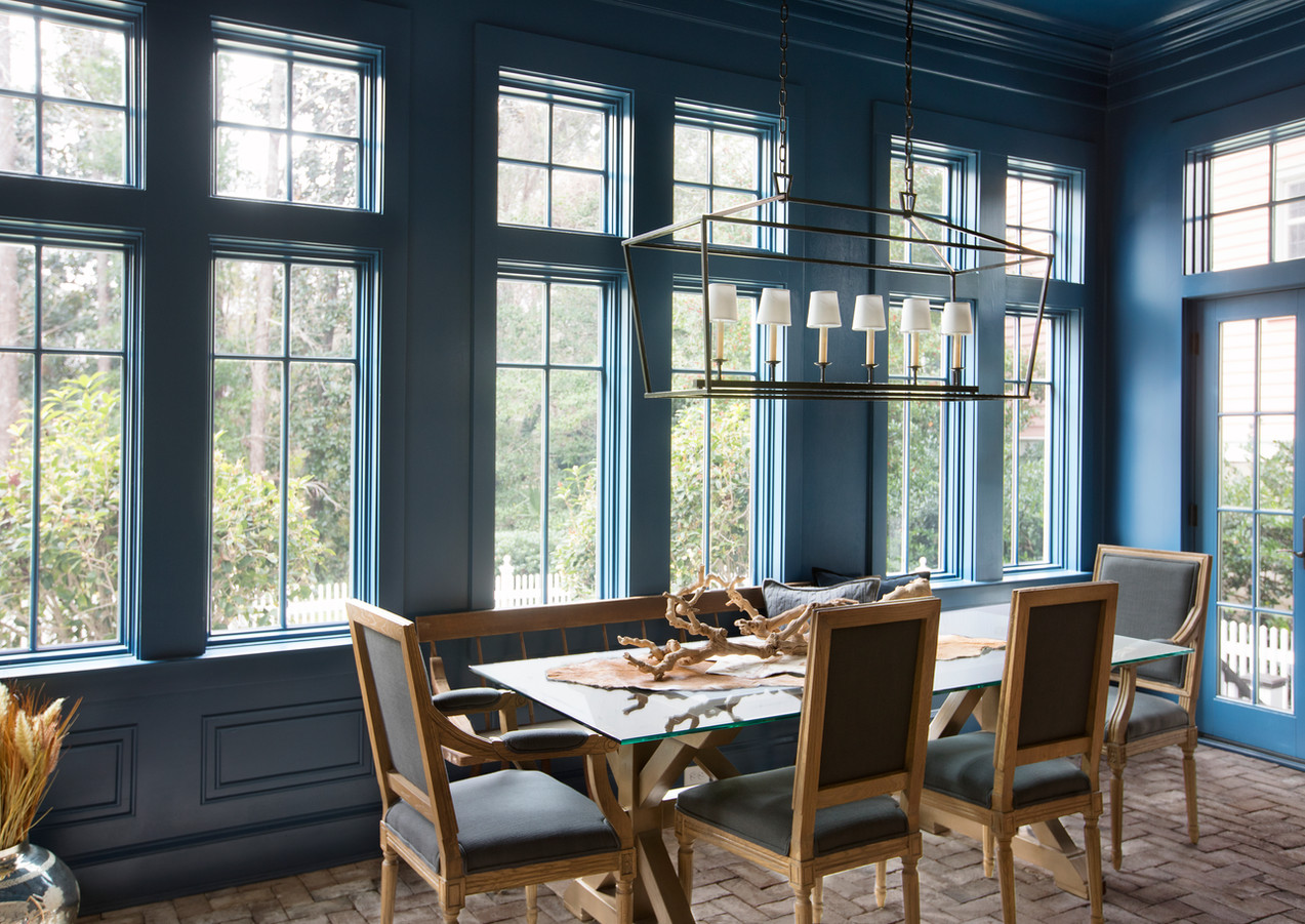 Transitional Dining Rm