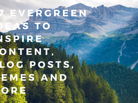 Cure writer's block with this free list of green content ideas