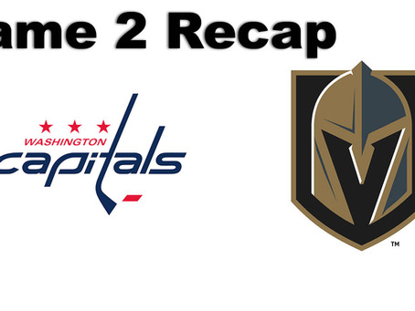 Holtby and the Capitals Stand Tall in Game 2.