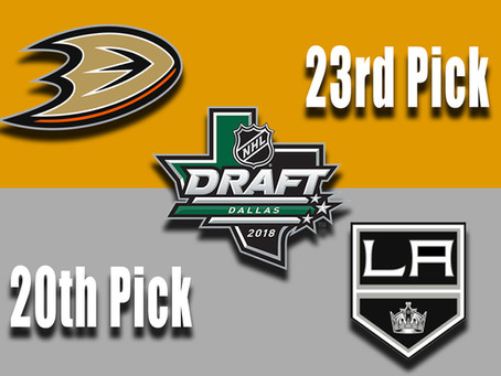 Kings and Ducks aim to upgrade on offense while area players also look to impact the draft.