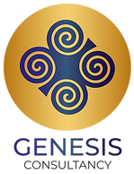 Genesis Consultancy Logo - Vertical Logo