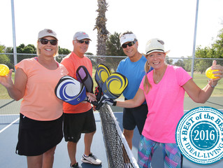 GVR Pickleball Club named 'Best of the Best'
