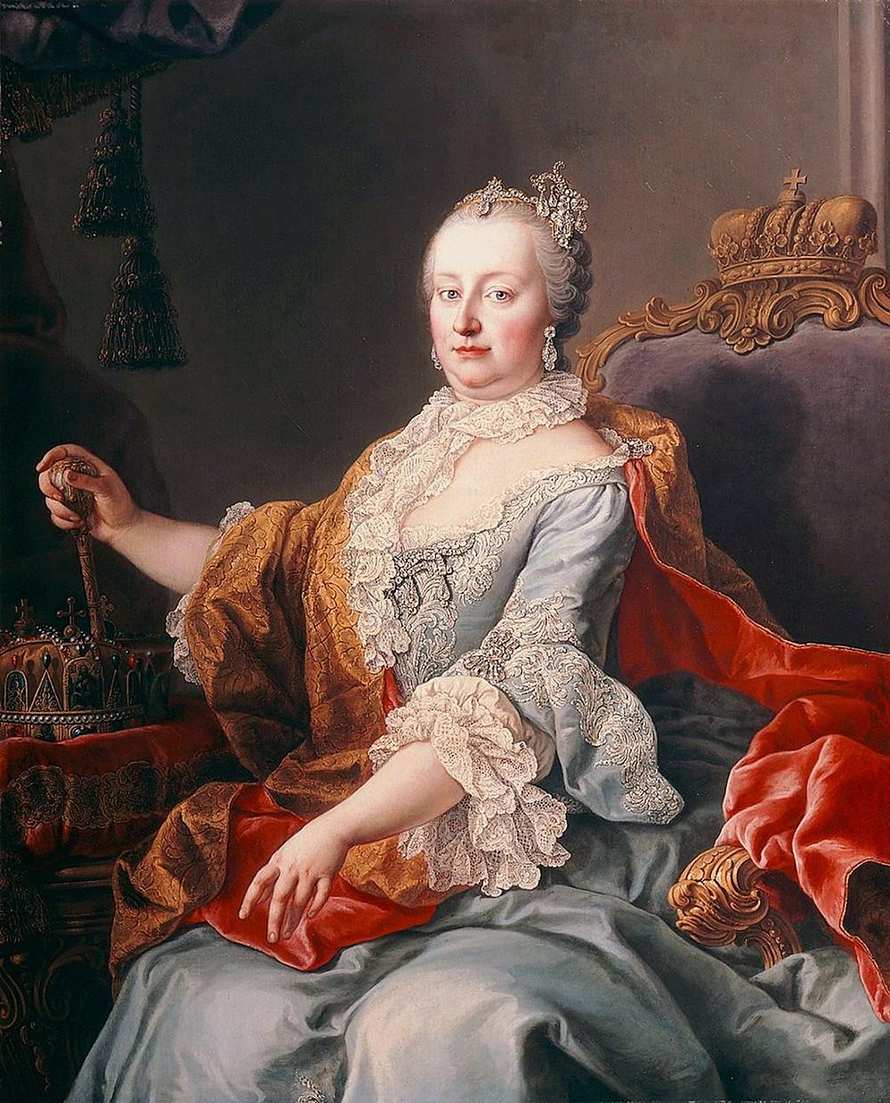 瑪麗亞·特蕾莎像 馬丁·范·梅伊滕斯繪,1759年