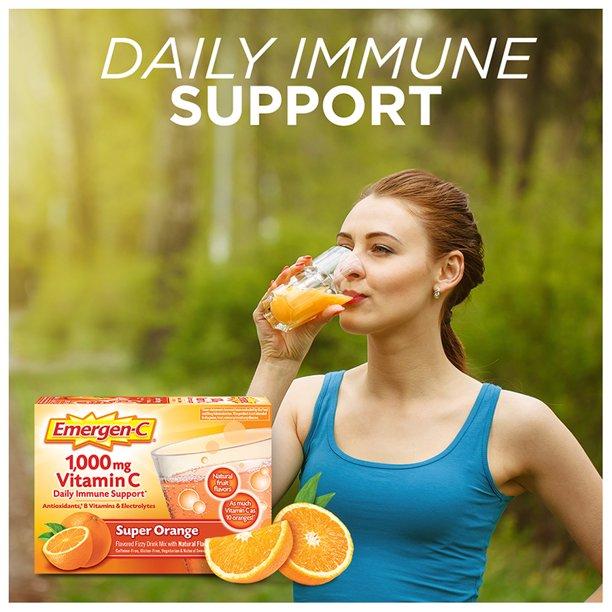增強免疫力 Emergen-C 1,000 MG Vitam