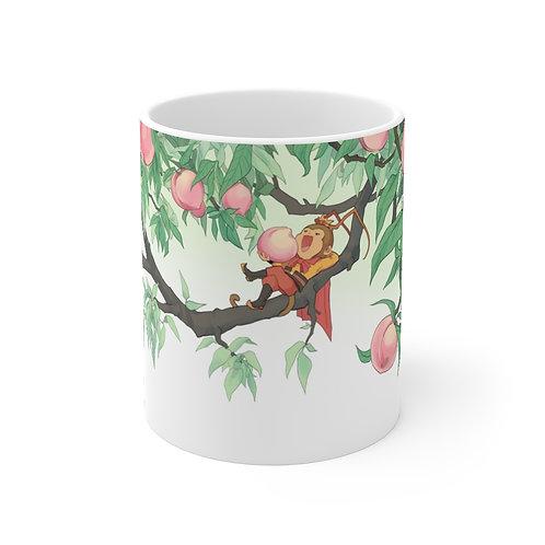 蟠桃園 西遊記手繪圖 Peach Garden ~ Ceramic mug (11oz)