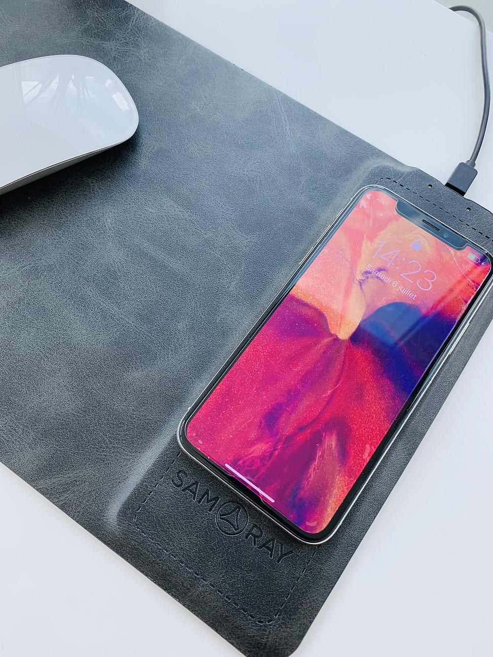 2合一手機充電器 滑鼠墊 Charger MousePad