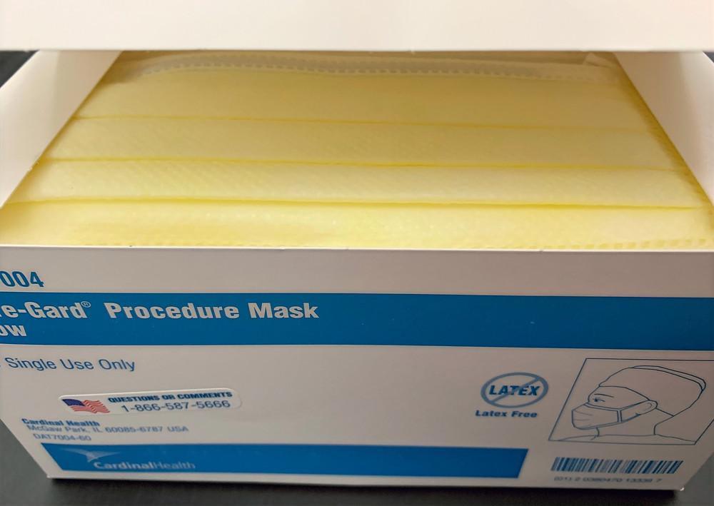 Cardinal Health Secure-Gard Procedure Face Masks 50/box 美國醫院醫用口罩 防護病毒流感 50個/盒